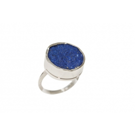 Bague Mireya en argent et Lapis Lazuli