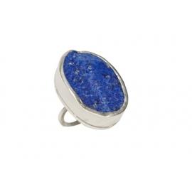 Bague Tania en argent et Lapis Lazuli