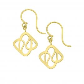 Boucles d'oreilles Déclinaison en vermeil jaune