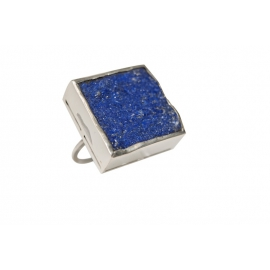 Bague Daniela en argent et Lapis Lazuli