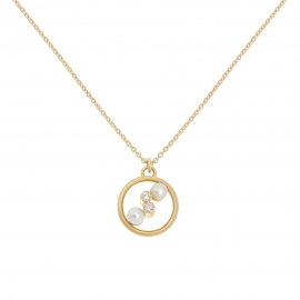 Collier Eternal kô - Or jaune 18K & diamants
