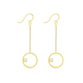 Sunshine earrings - Pearl