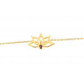 Bracelet Florness - Grenat