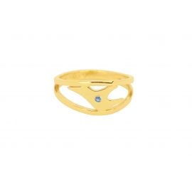 Bague Lovely - Topaze Blue London