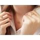 Lotus necklace - Peridot