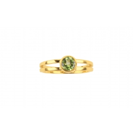 Siblings - Peridot Manon ring