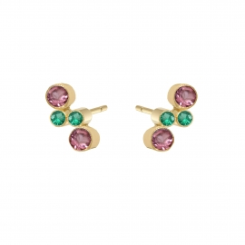 Eternal kô - 18K solid gold Stud earrings