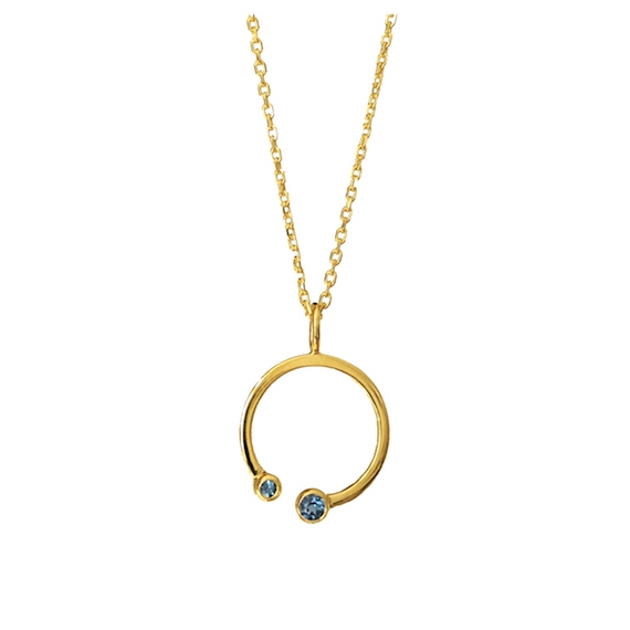 Purelight - Collier 2 Grenat