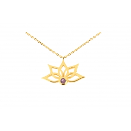 Purelight - Necklace 2 garnet