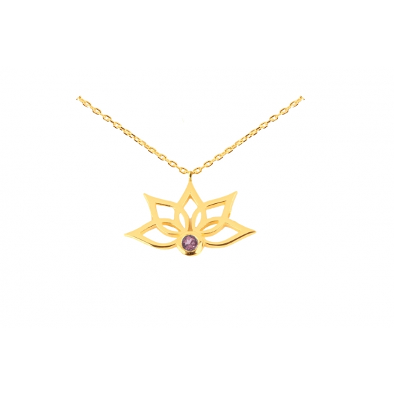 Purelight - Necklace 2 garnet