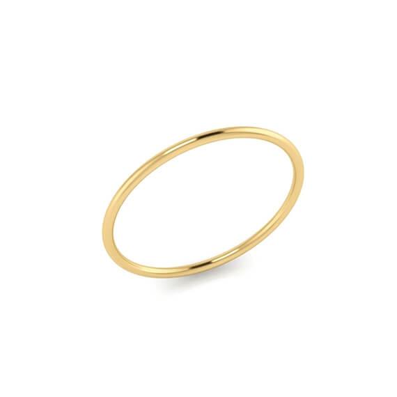 Alliance Pivoine 1,5 mm - Or 18 carats