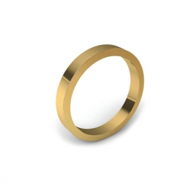 Alliance Lila 2,5 mm - Or 18 carats