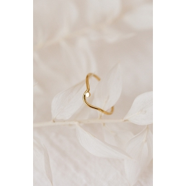 Recycled 18k gold ring 2