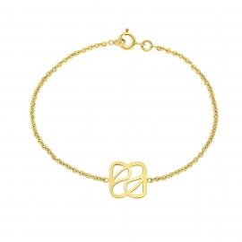 Bracelet Déclinaison en vermeil jaune