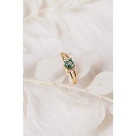 Bague Bountiful - Or 18 carats, morganite et diamants
