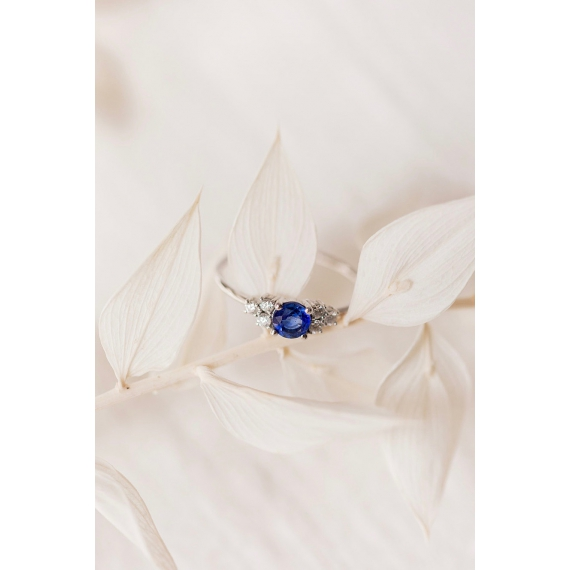 Bague Blissful - Or 18 carats, morganite et diamants