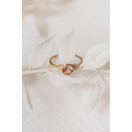 Bague Beautiful - Or 18 carats, morganite et diamants