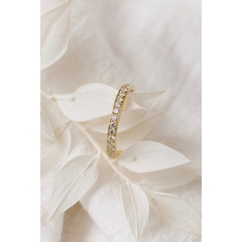 Alliance Violette - Or 18 carats