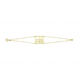 Bracelet carré Reflet