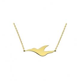 18 carats yellow gold - L'envol Necklace