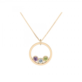 Collier sunshine personnalisable