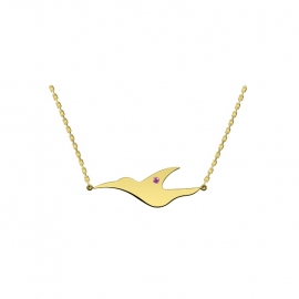 L'envol - Collier or massif 18k