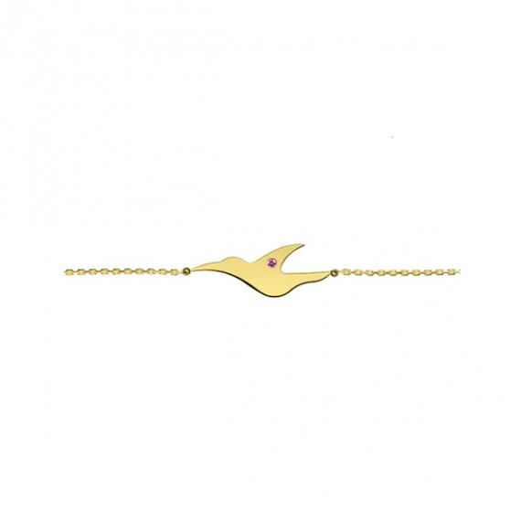 Bracelet L'envol en or jaune18 carats de la collection L'envol