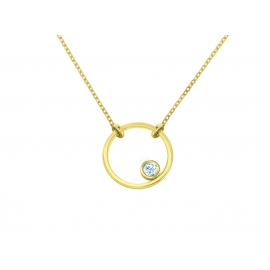 Double Circle Bracelet