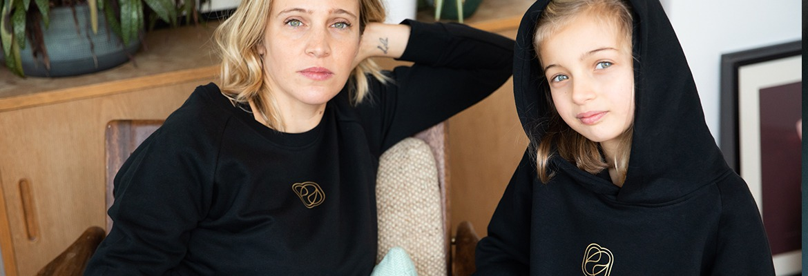 Une collection loungewear pour un hiver solidaire by Enora Antoine!