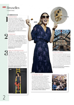 Manon ring of jewellery designer Enora Antoine in the magazine Gael