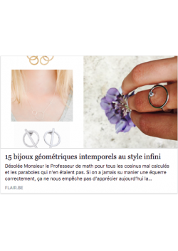 Sunshine ring in Flair Magazine